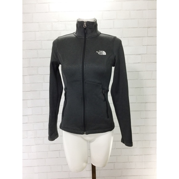 18a801aab The North Face Women's Agave Full Zip XS Gray EUC